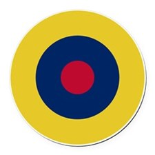 RAF Roundel - Type B1 Round Car Magnet