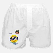 nalts iphone smile Boxer Shorts