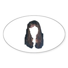 Hair Oval Decal