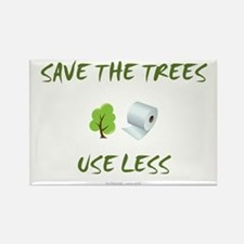 SaveTheTrees Rectangle Magnet