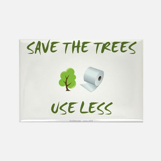 SaveTheTrees Rectangle Magnet