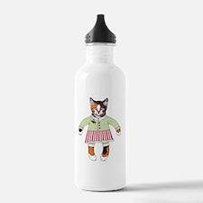 3 little kittens - xma Water Bottle