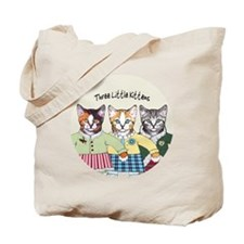 3 little kittens B - xmas ornament Tote Bag