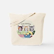 3 little kittens B - xmas ornament Tote Bag
