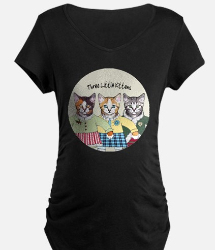 3 little kittens B - xmas o T-Shirt