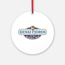 Kenai Fjords National Park Ornament (Round)