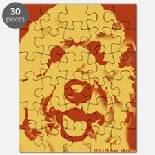 goldenDoodle_2tone_type1 Puzzle