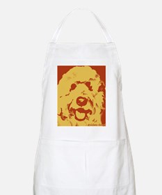goldenDoodle_2tone_type1 Apron
