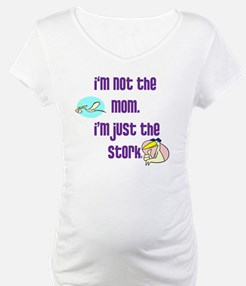 NotMomJustStorkWhiteBackground Shirt