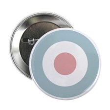 "RAF Roundel - Type D - Low-Viz 2.25"" Button"