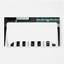 Keyboard License Plate Holder