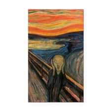 The_Scream_Poster Rectangle Car Magnet