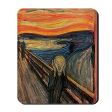 The_Scream_Poster Mousepad