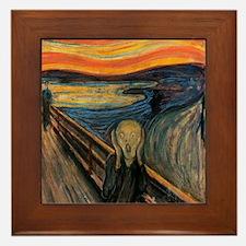 The_Scream_Poster Framed Tile