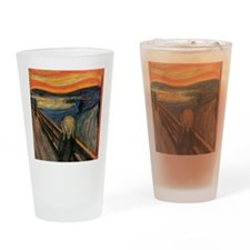 The_Scream_Poster Drinking Glass