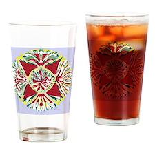 Christmas_Bellflower Drinking Glass