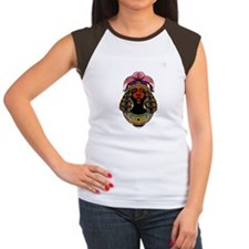 The Queen of Sheba  Women's Cap Sleeve T-Shirt