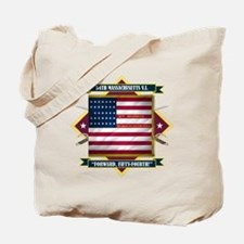 54th Massachusetts (Diamond) Tote Bag