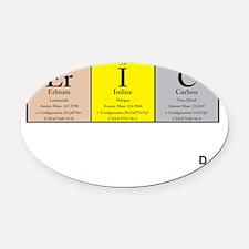 Er I C Color  Black +Logo Oval Car Magnet