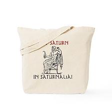 tshirt_keep saturn in saturnalia Tote Bag