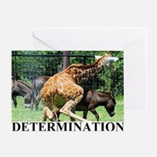 DETERMINATION1 Greeting Card