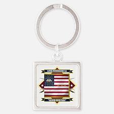 149th P.V.I. (Diamond) Square Keychain