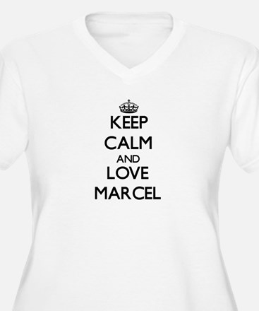 Keep Calm and Love Marcel Plus Size T-Shirt