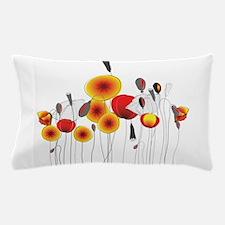 Contemporary California Poppies Pillow Case