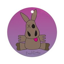 Dead Donkey Ornament (Round)