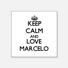 Keep Calm and Love Marcelo Sticker
