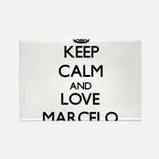 Keep Calm and Love Marcelo Magnets