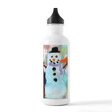Coles Snowman copy Water Bottle