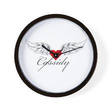 Angel Wings Cassidy Wall Clock