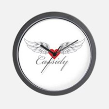 Angel Wings Cassidy Wall Clock