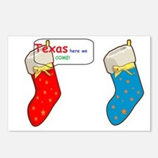 Texas cheer Postcards (Package of 8)