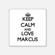 Keep Calm and Love Marcus Sticker
