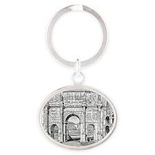 archofconstantine Oval Keychain