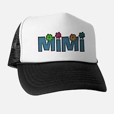 MIMI WITH FLOWERS Trucker Hat