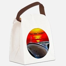 Star Ship Voyagers -  2012 Logo D Canvas Lunch Bag