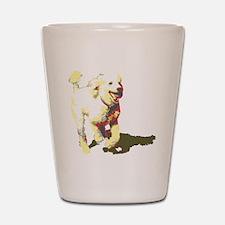 fetch-poodle Shot Glass
