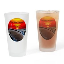 Star Ship Voyagers -  2012 Logo Des Drinking Glass