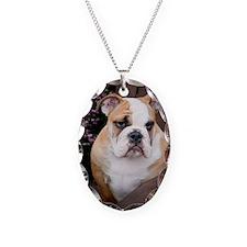 BulldogPuppy Necklace