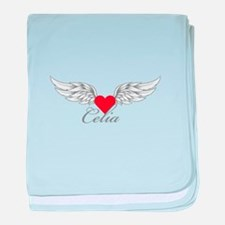 Angel Wings Celia baby blanket