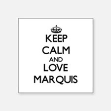 Keep Calm and Love Marquis Sticker