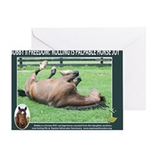 Bobby mouse pad Greeting Card