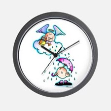 Ojitos Pequenos Blessing Wall Clock