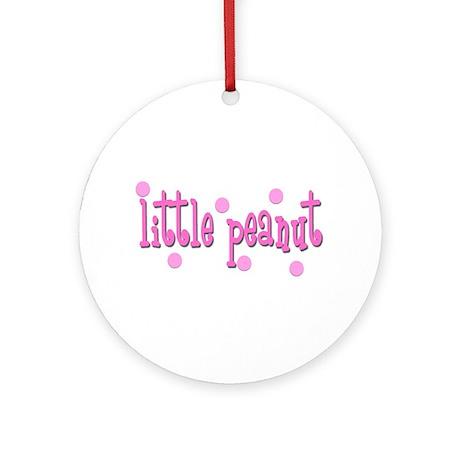 Little Peanut -girls Balloon weight (Round)