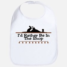 I'd Rather Be In The Shop Bib