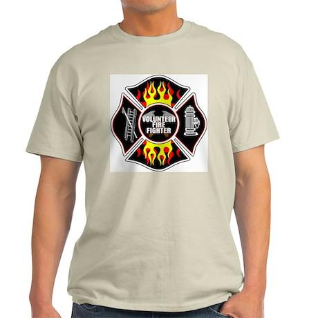 Volunteer Fire Dept Light T-Shirt