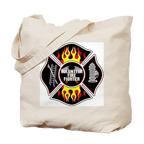 Volunteer Fire Dept Tote Bag